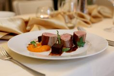 Tusculum, Karlovy Vary – recenze restaurace - TripAdvisor Trip Advisor, Panna Cotta, Steak, Restaurant, Ethnic Recipes, Food, Dulce De Leche, Eten, Restaurants
