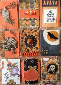 happy halloween letter stencils