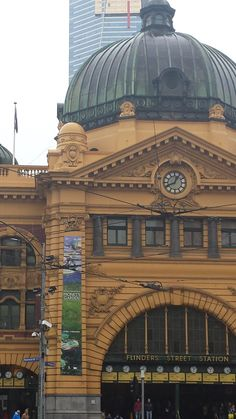 Flinders Street - Melbourne, Australia