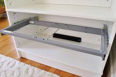File Storage Office Organization In An Effektiv Ikea Cabinet