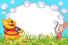 Marcos para Fotos de Winnie The Pooh ~ Marcos Gratis para Fotografías.