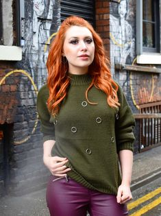 How to master smart-casual dressing this winter Manchester Northern Quarter, Red Hair Inspiration, Leather Trousers, Smart Casual, Cosy, The Twenties, Jumper, Casual Dresses, Winter Fashion