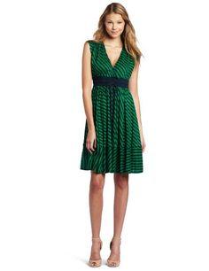 Plenty by Tracy Reese Women's Surplice Dress, Faded Navy/Amazon Green, Petite Plenty by Tracy Reese,http://www.amazon.com/dp/B0076IN1LE/ref=cm_sw_r_pi_dp_fW87rb0JMFSGRMXE