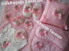 Süslü Bebek Tulumları ve Battaniyeleri