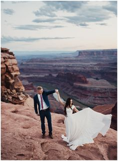 Eden Strader Photography, Red Rock Bridals, Leanne Marshall Wedding Dress, Dead Horse Point Bridals, Bridal pose ideas, engagement pose ideas, canyon bridals, red rock wedding, red rock elopement