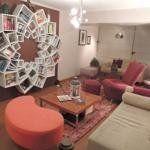 Veronica's One-of-a-Kind Mandala Bookshelf — House Call | Apartment Therapy