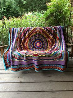 Crochet Afghan Patterns Ravelry: Project Gallery for Sophie's Universe CAL pattern by Dedri Uys - Beau Crochet, Crochet Home, Love Crochet, Beautiful Crochet, Crochet Crafts, Crochet Birds, Crochet Bear, Crochet Animals, Crotchet