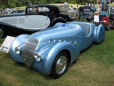1938 Peugeot 302 Weird Cars, Cool Cars, Vintage Cars, Antique Cars, Peugeot France, Car Badges, Hot Rides, Car Brands, My Ride