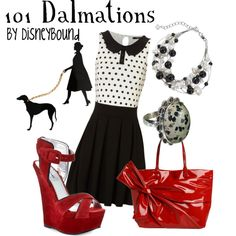 101 Dalmations, created by lalakay on Polyvore