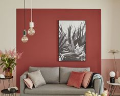 Living Room Red, Living Room Colors, Living Room Paint, Living Room Decor, Bedroom Decor, Interior Design Living Room, Living Room Designs, Wall Color Combination, Red Walls