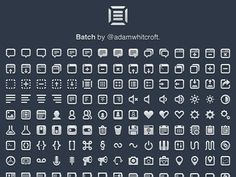 Batch - 300 Pictographs for Web & User Interface Design