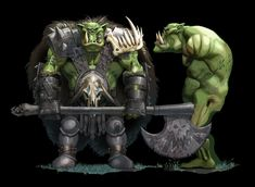 Warhammer Orc WOoo - Polycount Forum