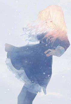 e-shuushuu kawaii and moe anime image board Anime Girl Cute, Beautiful Anime Girl, Anime Art Girl, Anime Girls, Manga Girl Sad, Anime Girl Crying, Aesthetic Art, Aesthetic Anime, Anime Style