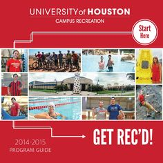 Welcome Cougars! Campus Recreation Program Guide