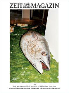 Ja! Wie der Sternekoch Antonio Guida in der Toskana die Küche seiner Heimat verfeinert. Ein Heft zum Genießen