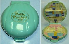 Polly pocket... I still remember getting these for my birthday :)