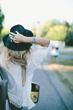 Our Buffalo Nickel Hat via Dreams Of A Silverado Night   Free People Blog
