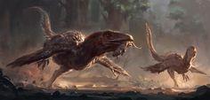 Deinonychus catch, R...