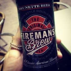 Thanks to Fireman's Brew for being this months brewery they had some awesome beer ! This is their Brunette a German Doubleock 8% ABV