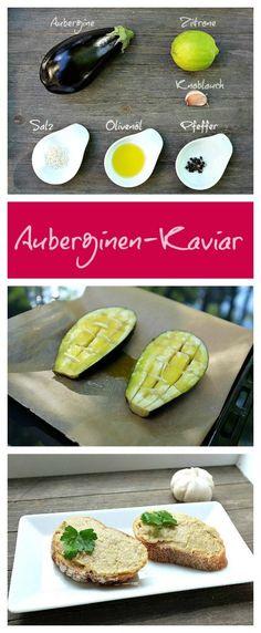 Geschmacklich eine Sensation: Auberginen-Kavier