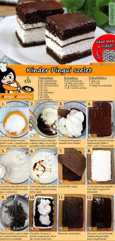 A lot of people loves this dessert, both kids and adults will enjoy it! Try the Kinder Pingui cubes! You can easily find the Kinder Pingui Cubes recipe by scanning the QR code in the top right corner! Easy Desserts, Dessert Recipes, Cube Recipe, Best Pancake Recipe, Baking Ingredients, Relleno, Cake Cookies, Cubes, Food Porn