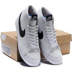 nike blazer high tops men white