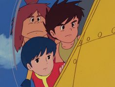Conan le Fils du Futur, l'animé total de Miyazaki - http://www.kanpai.fr/manga-anime/conan-fils-futur-miyazaki.html