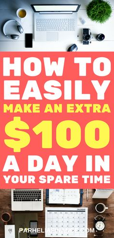 Looking to make extra money fast in your spare time? Here are some ideas on how to make 100 dollars Real Online Jobs, Make Money Fast Online, Earn Money From Home, Way To Make Money, Make 100 A Day, 100 Dollar, Money Matters, Extra Money, Finance