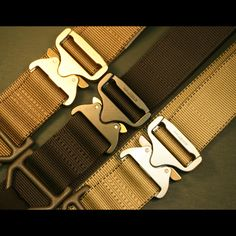 AustriAlpin Cobra buckles - Patented AustriAlpin Cobra(TM) buckles are, without equal, the world's safest, most finely crafted, and strongest load bearing quick release fasteners available. All Cobras are machined from the highest grade 7075 aluminum alloy and feature solid brass and stainless internal release mechanisms.