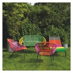 Enjoy al fresco dining in your back garden with Habitat's quality designer garden furniture. Shop the garden range including chairs, tables & more online today.