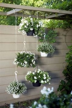 18 best flower garden ideas for the backyard that can bring a beautiful view through colorful flower or mix with various green plants. #GardeningIdeas #FlowerGarden