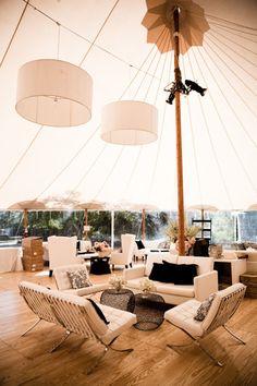 sleek + modern wedding lounge area | Docuvitae