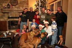 Rocky and Bella stealing the show with a not-so-Immaculate Conception. | 21 Family Christmas Photos That Failed So Hard They Almost Won