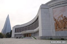 The Victorious War Museum in the capital of DPRK is a must visit.