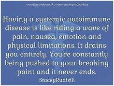 Stacey Rudisill, Autoimmune Angels.