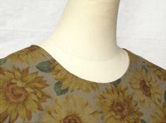 超簡単直線ワンピースの作り方 One Piece Dress, Handmade, Dresses, Vestidos, Hand Made, Craft, The Dress, Dress, Gowns