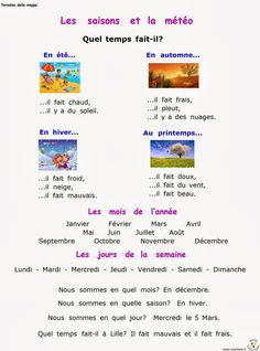 Paradiso delle mappe: Francese