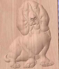 CNC router  dog relief