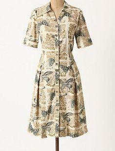 Anthropologie Alary Shirtdress Dress by Girls from Savoy