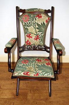 Antique Armchairs, Victorian Chair, Folding Chair, Upholstered Chairs, Fabric Design, Accent Chairs, Restoration, Upholstery, Dining Chairs