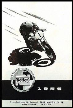 1956 Norton by -bullittmcqueen- #flickstackr    Flickr: http://flic.kr/p/9t6cBy