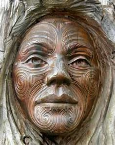 Wood Carving, New zealand