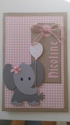 Super Ideas For Baby Born Congratulation Handmade Girl Birthday Cards, Baby Girl Cards, New Baby Cards, Baby Born Congratulations, Karten Diy, Baby Shower Cards, Marianne Design, Baby Scrapbook, Handmade Baby