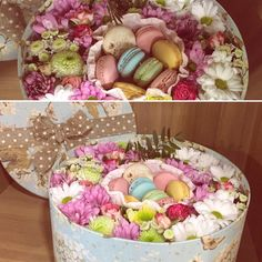 macaroon Macaron Boxes, Flower Boxes, Flowers, Hipster Wedding, Macaroons, Gift Baskets, Flower Designs, Great Gifts, Wedding Inspiration