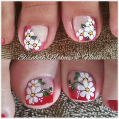 unghie Risultato dell'immagine per deko uñas para pies Butterfly Nail Art, Red Butterfly, Pedicure Designs, Toe Nail Designs, Blue French Tips, Cute Pedicures, Feet Nails, Nail Technician, Toe Nail Art