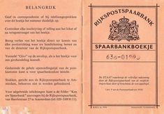 Things of the past ( ) - Dingen van vroeger ( ) ( Spaarbankboekje ). Those Were The Days, The Old Days, Good Old Times, When I Grow Up, My Youth, Teenage Years, Do You Remember, Sweet Memories, My Memory