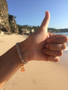 Everyday is OK on Bali  !  B-nasty fashion branclet. Sunny day on the beach
