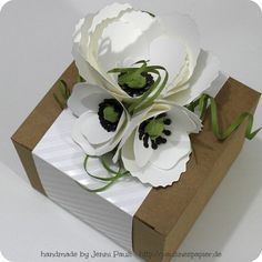 Box Flower-Die Blütenstanze Mohnblume
