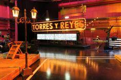 Plató de Torres y Reyes Diseño y fabricación por Able.