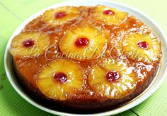 Tarta de Piña | Cocinar en casa es facilisimo.com